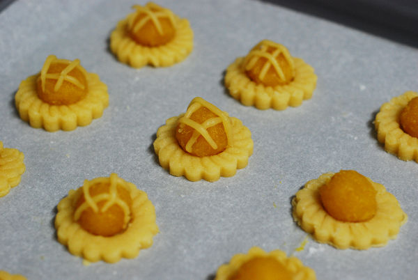 Before Bake - Pineapple Tarts