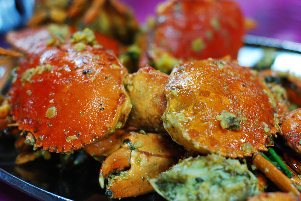 Salted Egg Crabs @ Port Village Seafood Restaurant