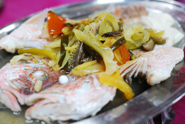 Steamed Fish Teochew Style @ Port Village Seafood Restaurant