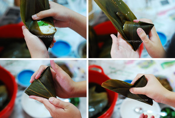 How To Wrap Nyonya Chang
