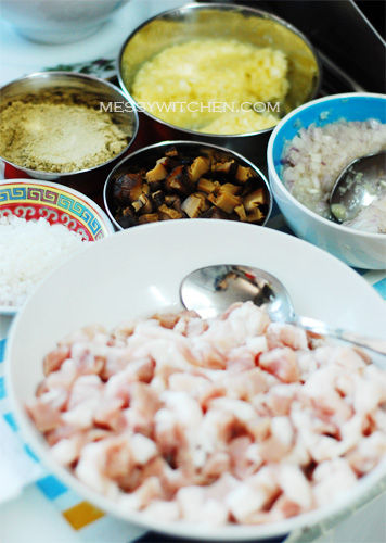 Nyonya Chang Ingredients