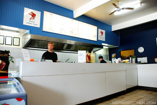 Anglesea Fish & Chips @ Great Ocean Road, Anglesea