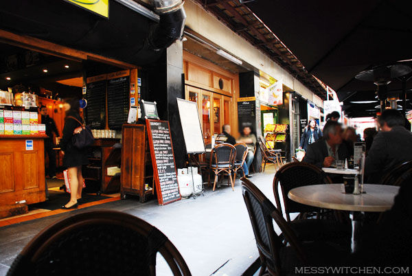 Cafe Andiamo @ Degraves Street, Melbourne CBD