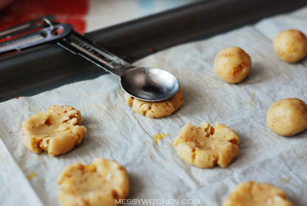 Shaping Walnut Biscuits