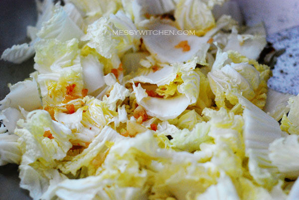 Stir Fry Chinese Cabbage