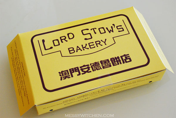 Lord Stow's Egg Tarts @ Expresso, Excelsior Hotel, Hong Kong