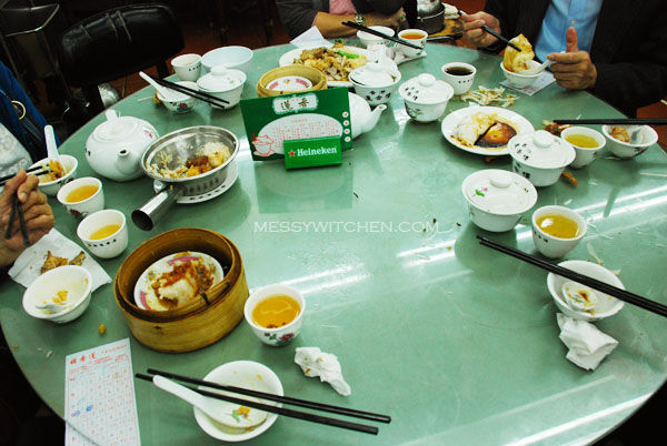 Our Table @ Lin Heung Tea House, Central, Hong Kong