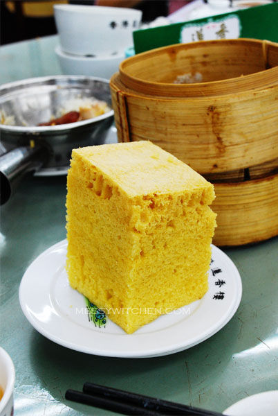 Steamed Chinese Sponge Cake (Ma Lai Go) @ Lin Heung Tea House, Central, Hong Kong