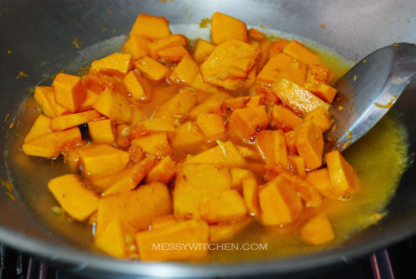 Braised Pumpkin