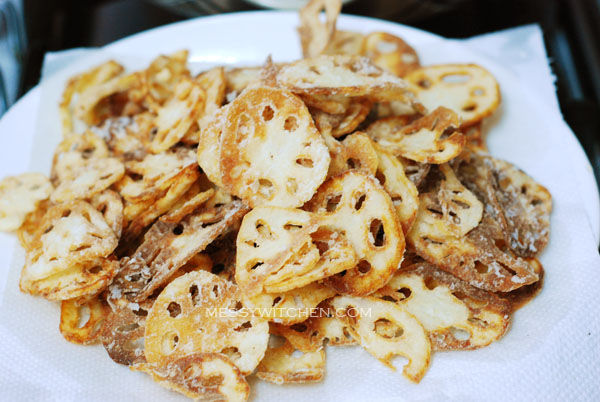 Crispy Lotus Root