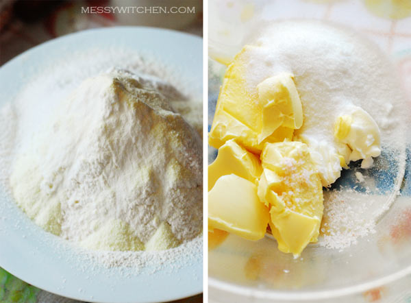 Ingredients Salted Egg Yolk Cookies