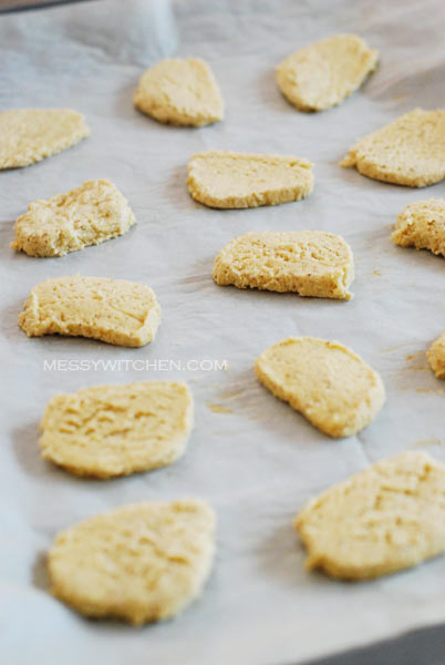 Unbake Star Anise Cookies