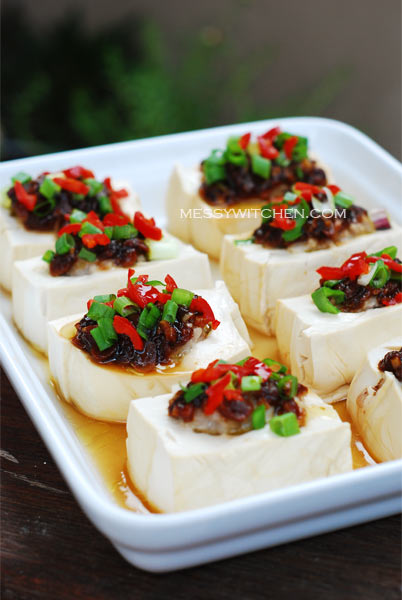 Steamed Soft Bean Curd In Country Style