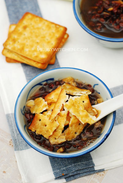 Red Bean With Tangerine Peel & Cream Crackers