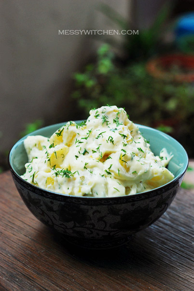 Potatoes In Dill Cream Sauce