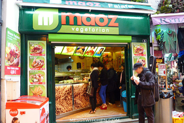 Maoz Vegetarian Falafel @ Paris, France