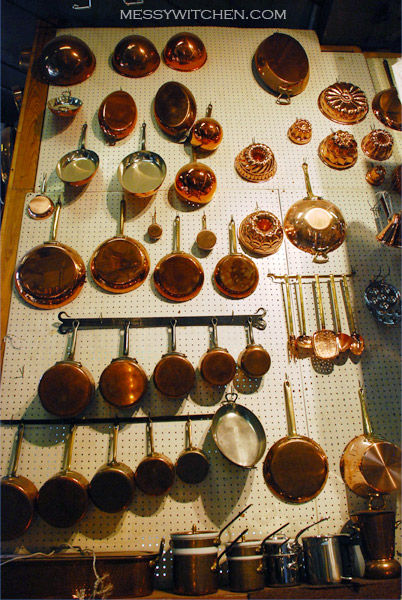 Copper Pots, Pans & Bakewares @ E. Dehillerin, Paris, France