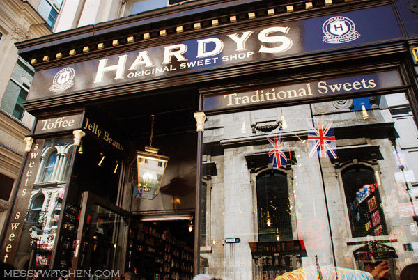 Hardys Original Sweet Shop @ London