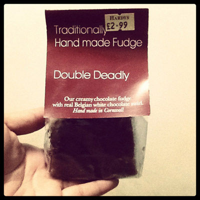 Traditionally Handmade Fudge From Hardys Original Sweet Shop, London
