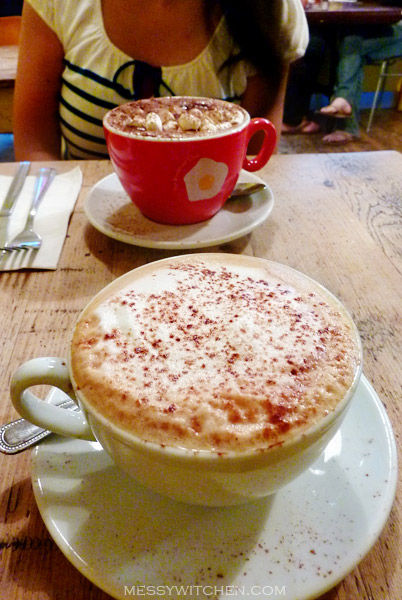 Cappuccino & Hot Chocolate @ The Breakfast Club, London