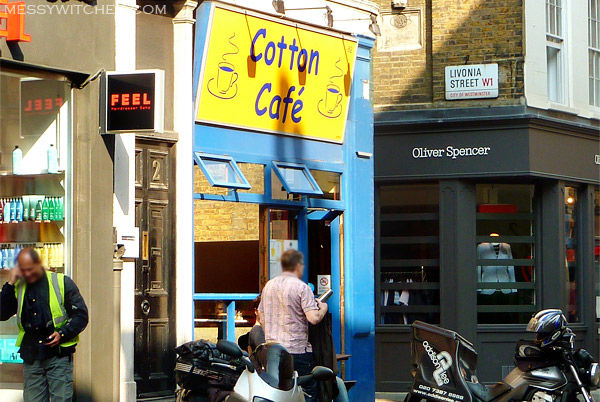 Cotton Cafe @ London