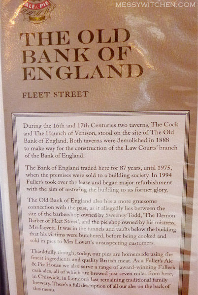 Old Bank Of England @ London