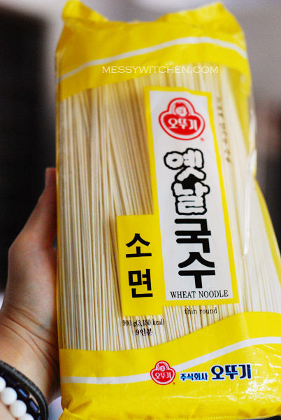 So Myeon (Wheat Noodle)