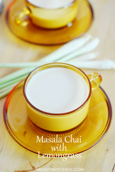 Masala Chai With Lemongrass