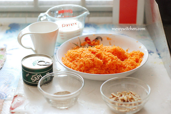 Ingredients For Carrot Halwa