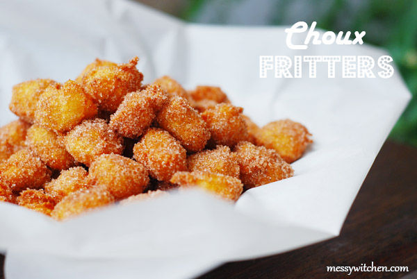 Choux Fritters