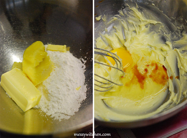 Cream Butter And Icing Sugar