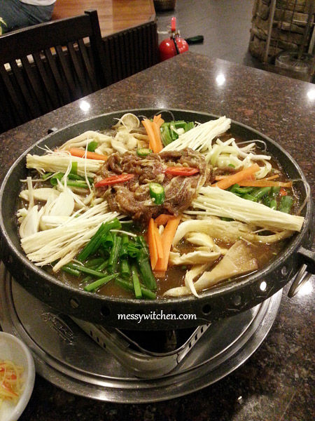 Dwaeji Bulgogi @ Todam Korean BBQ Restaurant