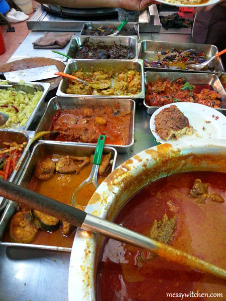 Assorted Dishes @ Central Market Fish Head Curry Restaurant, Bangi