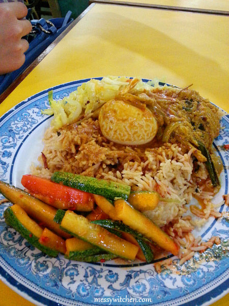 Nasi Biryani With Side Dishes @ Central Market Fish Head Curry Restaurant, Bangi