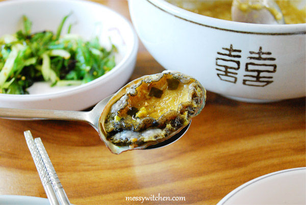 Abalone From Sea Urchin Soup @ Han Seong Restaurant, Jeju-do, South Korea