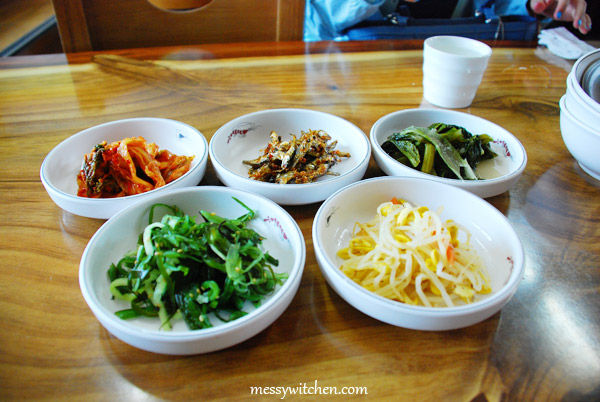 Banchan @ Han Seong Restaurant, Jeju-do, South Korea