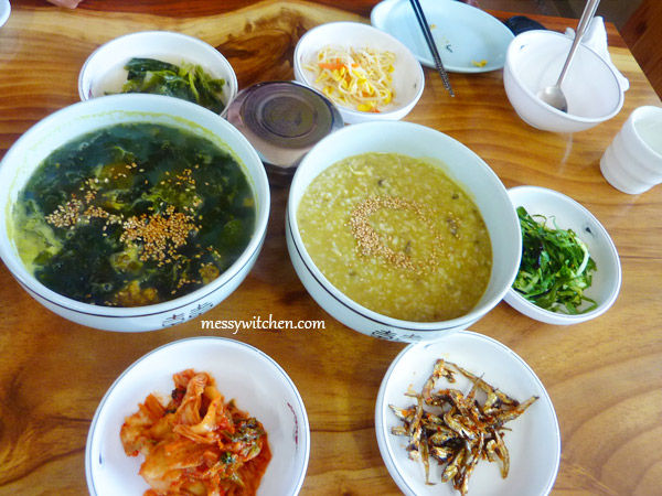 Our Morning Breakfast @ Han Seong Restaurant, Jeju-do, South Korea