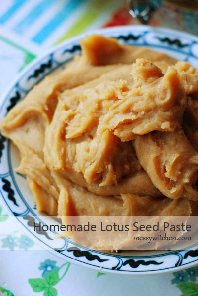 Homemade Lotus Seed Paste