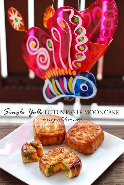 Homemade lotus seed paste for mooncake filling (regular & pandan flavors)
