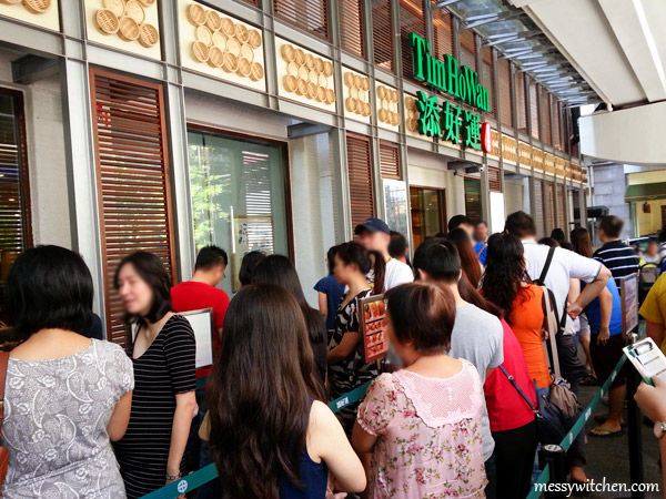 Queuing @ Tim Ho Wan, Mid Valley City