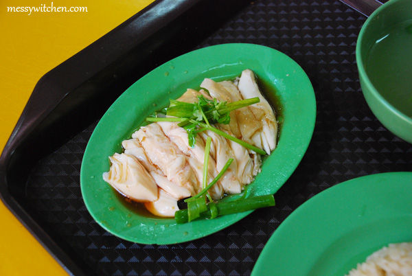 Hainanese Boneless Chicken Rice @ Golden Mile Food Centre, Singapore