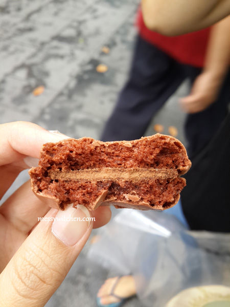 Chocolate Macaron From Laduree, Singapore