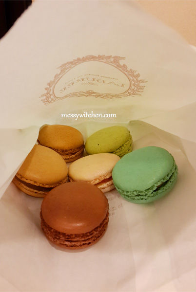 Laduree Macarons @ Ngee An City (Takashimaya), Singapore