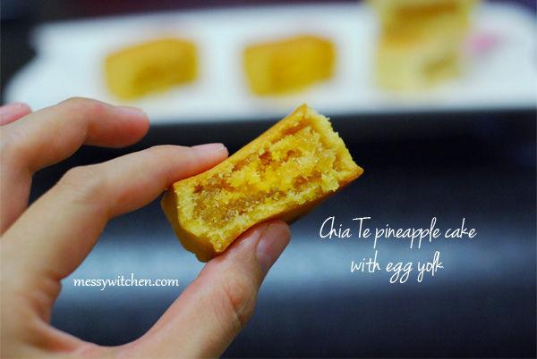 Taiwanese Pineapple Cakes Chia Te Vs Li Yi Messy Witchen