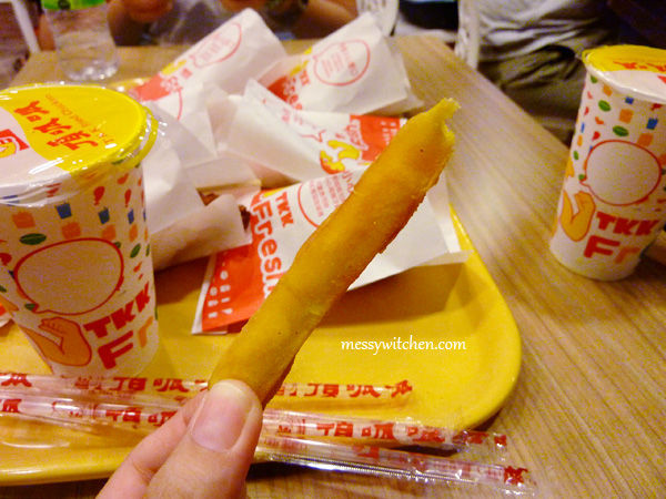 TKK Sweet Potato Fries @ TKK Fried Chicken, Eslite Xinyi Store, Taipei