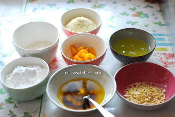 Ingredients For Mango Financiers