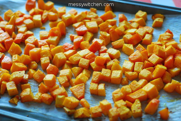Roasted Butternut Squash & Carrot