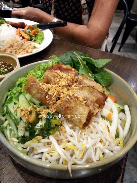 Spring Roll With Vermicelli @ Pho Vietz