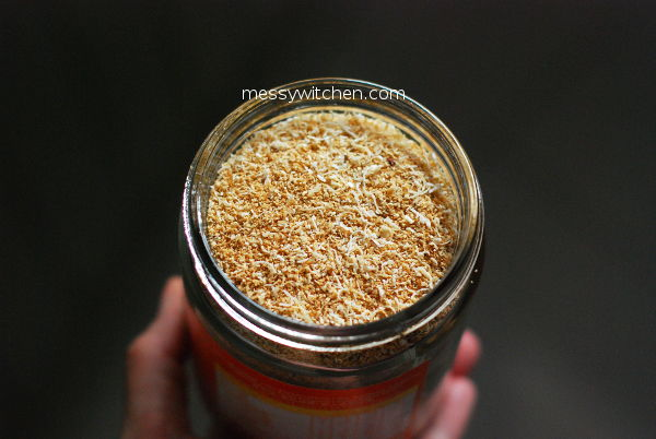 Toasted Grated Coconut From Leftover Coconut Pulp