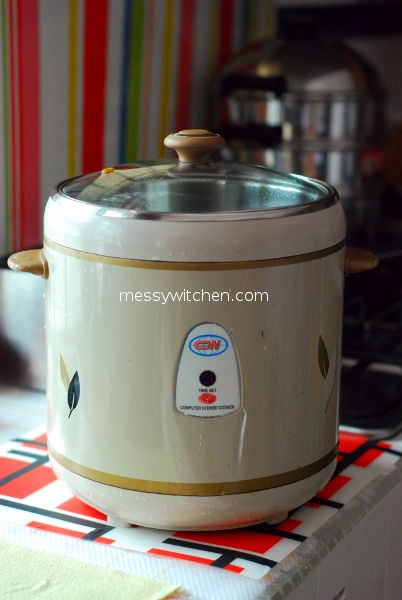 Stewed Cooker For Double Boiling